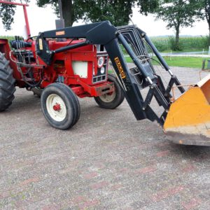 Tractor rood